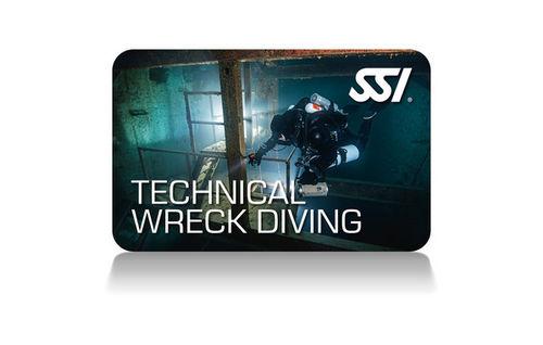 SSI Technical Wreck Diving - Hylkysukelluskurssi